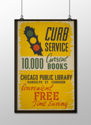 """WPA Curb Service Poster, 12""""x18"""""""